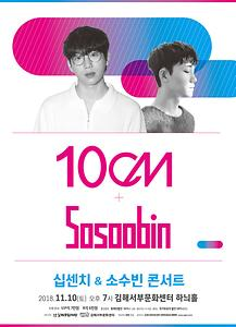 10cm & Sosoobin 콘서트